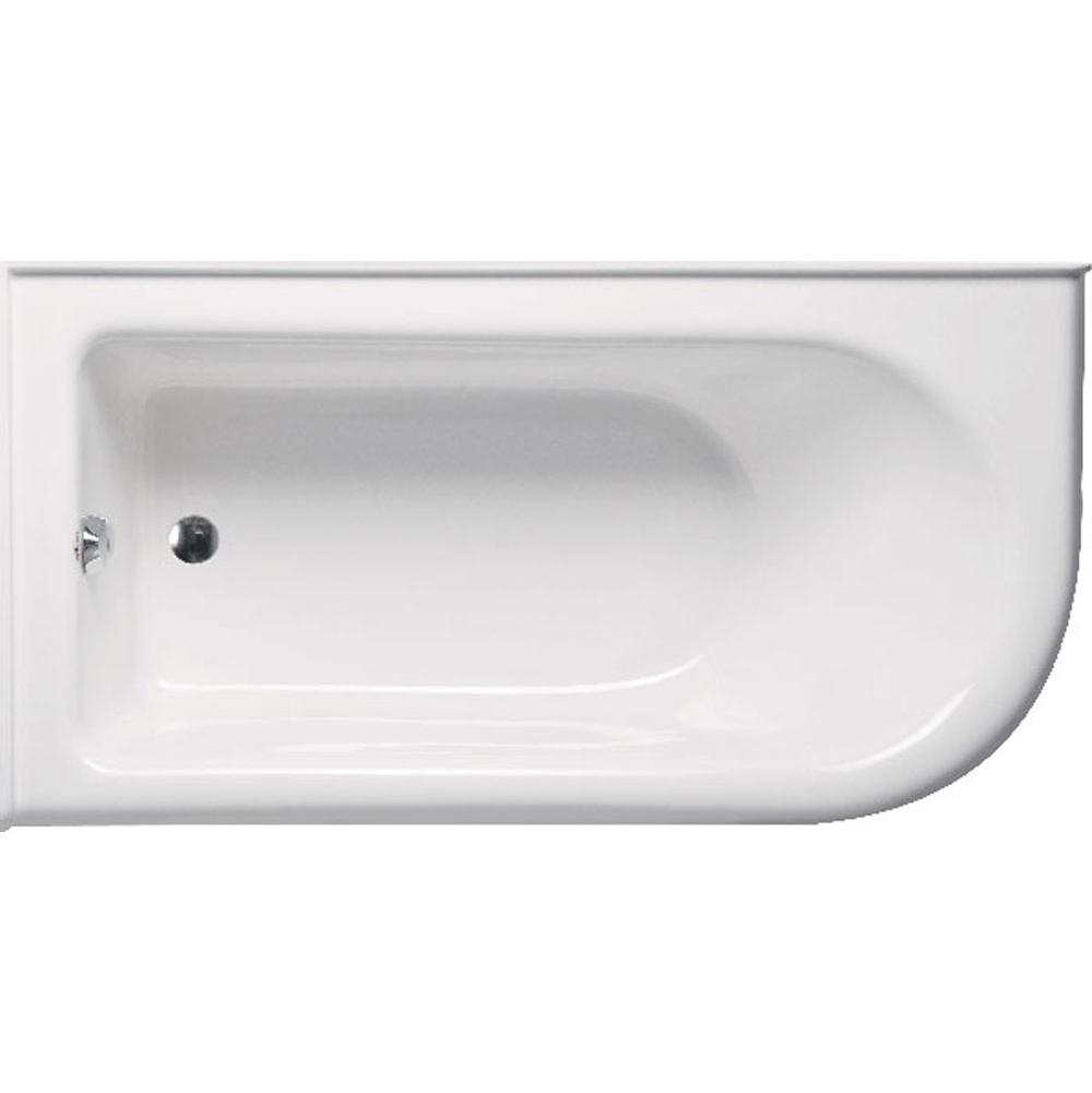 Americh Bow 6632 Left Hand - Tub Only, White