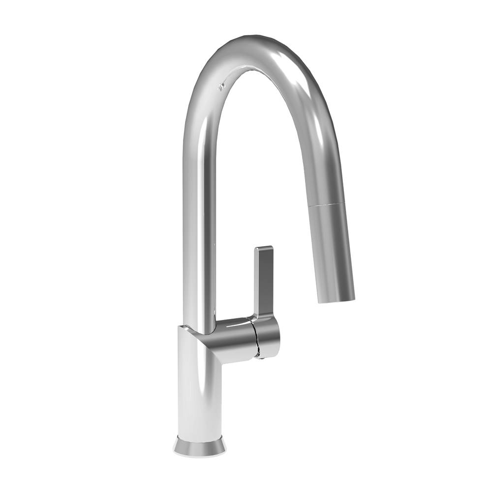 BARiL Single Hole Kitchen Faucet With 2-Function Pull-Out Spray
