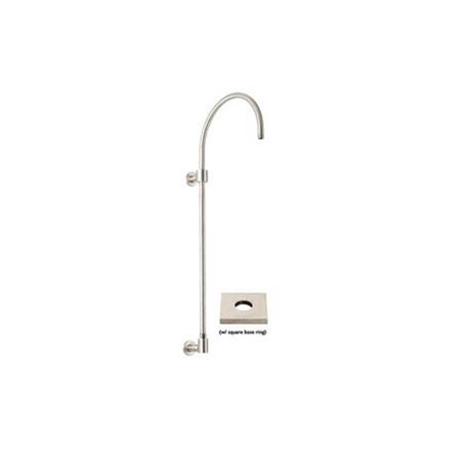 California Faucets Exposed Shower Column - Square Base